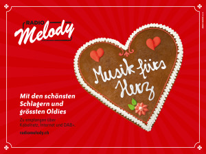 Plakat von Radio Melody
