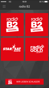 Radio B2 App