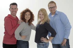 v.l.n.r.: Michael Brockordt, Sandra Samper, Steffi Müller, Carsten Kulawik (Foto: Radio Wuppertal/Andreas Fischer)
