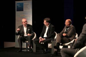Hans-Dieter Hillmoth, Martin Liss, Robert Skuppin, Bild: MEDIENTAGE MÜNCHEN