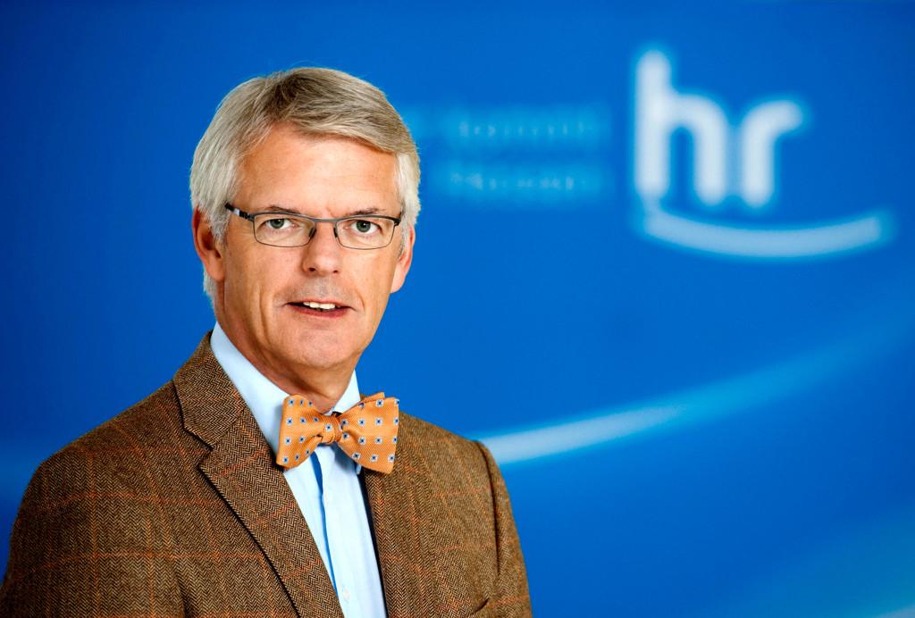 HESSISCHER RUNDFUNK Dr. Helmut Reitze, Intendant des Hessischen Rundfunks.