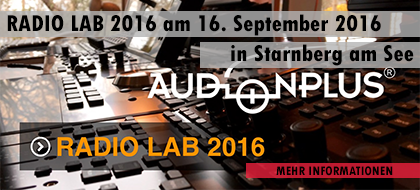 Event: RADIO LAB 2016 am 16. September 2016 in Starnberg am See