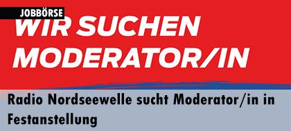 Radio Nordseewelle sucht Moderatorin in Festanstellung