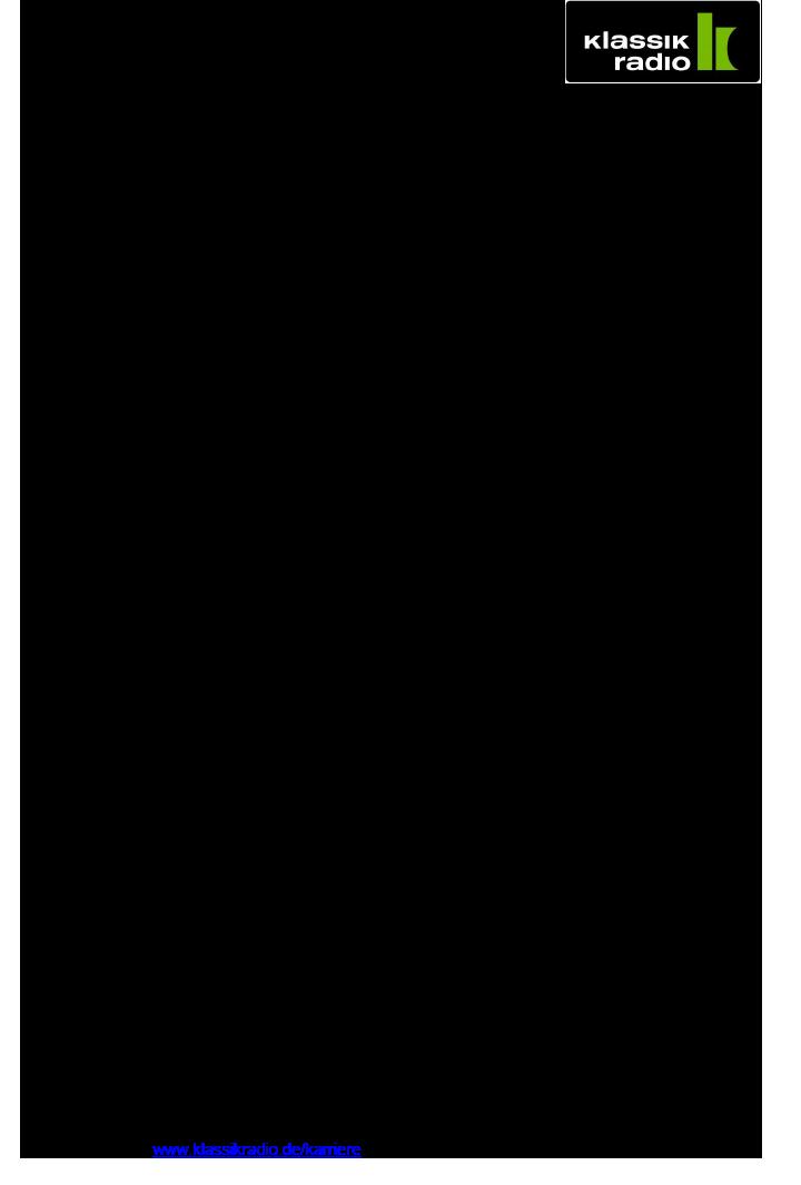 Klassik Radio ist Deutschlands meistverbreitetes Privatradio mit einer konsequenten 360° Digitalausrichtung. Es betreibt einen der erfolgreichsten Klassik-Sender weltweit, veranstaltet eigene Konzerte, verfügt über eigene Shops und mit Klassik Radio Select über einen eigenen Streamingdienst. In Deutschland erreicht Klassik Radio durch sein einzigartiges Programm aus klassischer Musik, New Classics und Filmmusik knapp sechs Millionen Hörer.