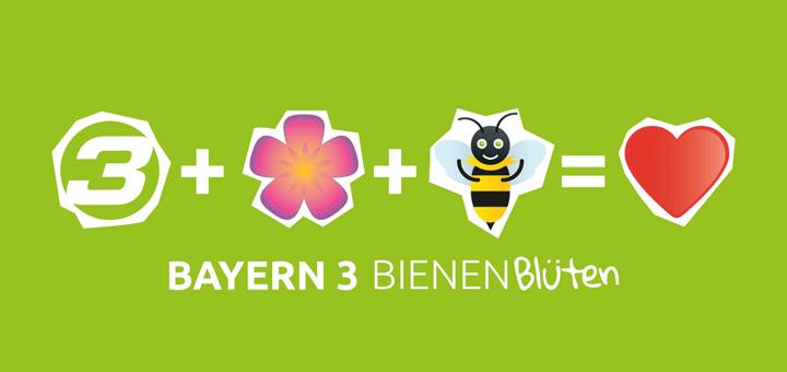 Bayern 3 Bienen Blüten