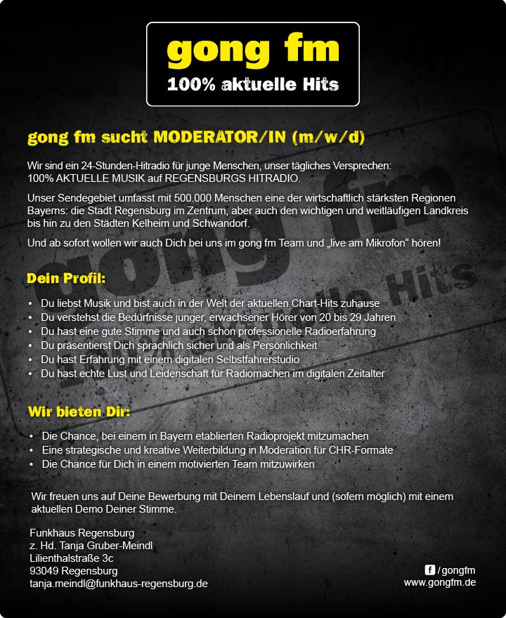 Wir sind ein 24 Stunden-Hitradio für junge Menschen, unser tägliches Versprechen: 100% AKTUELLE MUSIK auf REGENSBURGS HITRADIO.